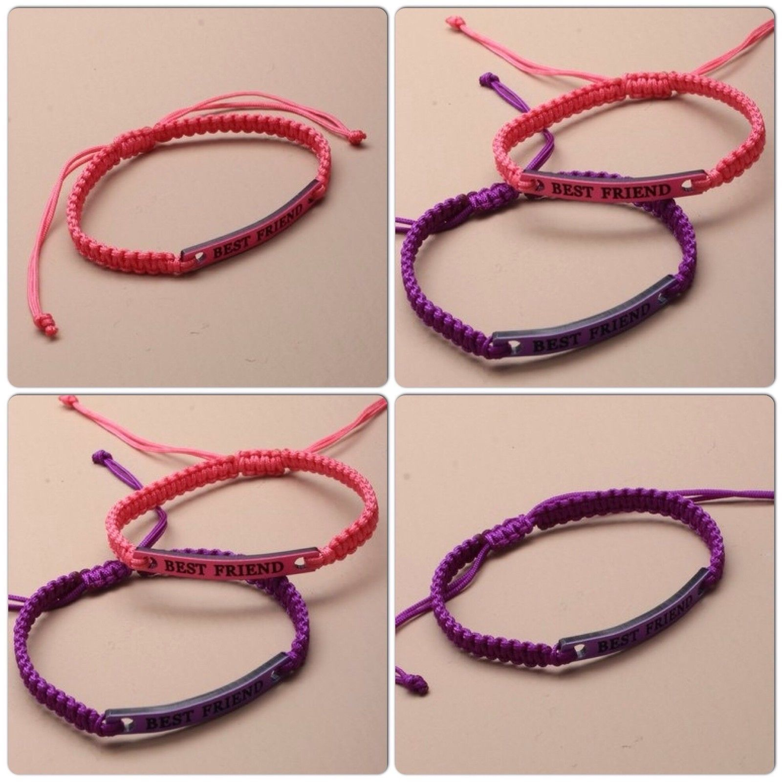 asp bracelet friend p friendship corded of best set